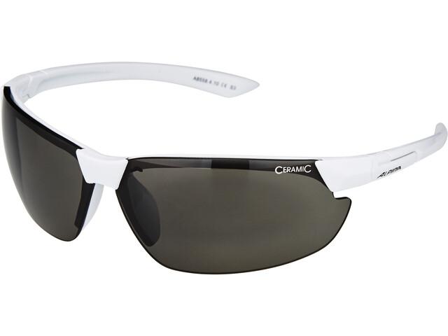 Alpina Draff Aurinkolasit, white/black